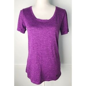 Nike • Dri Fit Purple Short Sleeve Workout Tee